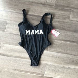 Other - Blank tank mama bathing suit